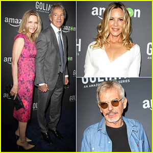 Michelle Pfeiffer Supports Husband David At Amazon 'Goliath' Premiere - Watch Trailer!