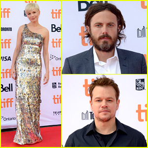 Michelle Williams & Casey Affleck Premiere 'Manchester by the Sea' in Toronto