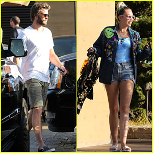 Miley Cyrus & Liam Hemsworth Enjoy a Labor Day Lunch Together at Nobu!
