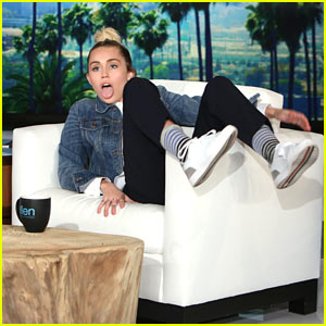 Miley Cyrus Fills in as Host of 'The Ellen Show'!