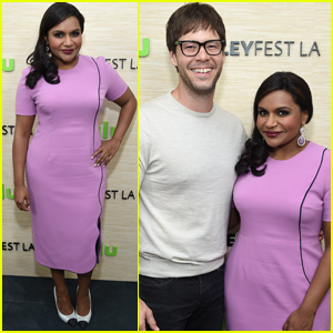 Mindy Kaling Meets Her Soulmate at PaleyFest
