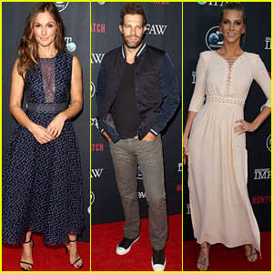 Minka Kelly & Heather Morris Attend 'HUNTWATCH' Screening