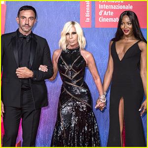 Naomi Campbell Joins Fashion Elite at Venice Film Festival