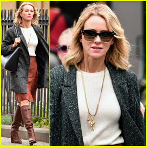 Naomi Watts Films 'Gypsy' in NYC on Her 48th Birthday