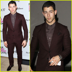 Nick Jonas Heads to Craigs With Joe & Friends After 'Goat' Screening