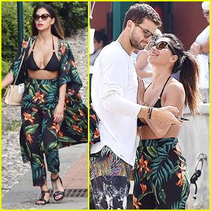 Nicole Scherzinger & Boyfriend Grigor Dimitrov Enjoy Romantic Vacation in Italy!