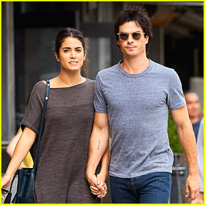 Ian Somerhalder & Nikki Reed Enjoy Afternoon Date in NYC!