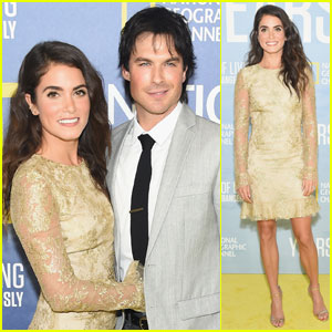 Nikki Reed & Ian Somerhalder Couple Up for 'Years Of Living Dangerously' Premiere
