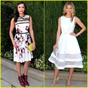 Nina Dobrev & AnnaLynne McCord Show Support at Rape Foundation Brunch
