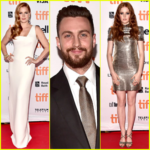Amy Adams, Aaron Taylor-Johnson, & 'Nocturnal Animals' Cast Attends Premiere at TIFF 2016!