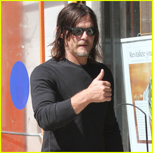 Norman Reedus Wishes Andrew Lincoln a Happy Birthday