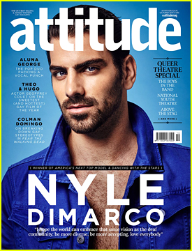 Nyle DiMarco Isn't Afraid To Say Men Are Beautiful
