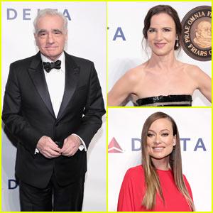 Olivia Wilde, Juliette Lewis, & More Honor Martin Scorsese with Entertainment Icon Award!