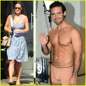 Pippa Middleton's Future Brother-in-Law Strips Down For London Fashion Week