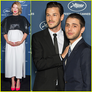 Pregnant Lea Seydoux Brings Baby Bump To Cannes Film Festival 70th Anniversary Party!