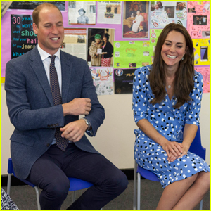 Prince William & Kate Middleton Head Back to School!