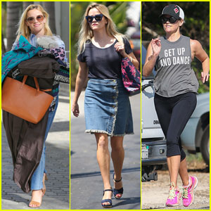 Reese Witherspoon Packs School Lunches for Her Kids
