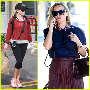 Reese Witherspoon Gets Silly While Stuck in Traffic!