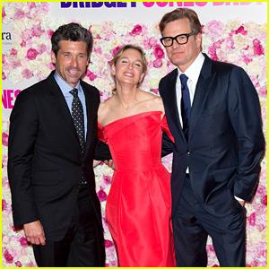 Renee Zellweger Premieres 'Bridget Jones's Baby' in Paris with Patrick Dempsey & Colin Firth