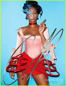 Rihanna Is a Sexy Marie Antoinette for 'CR Fashion Book' Cover