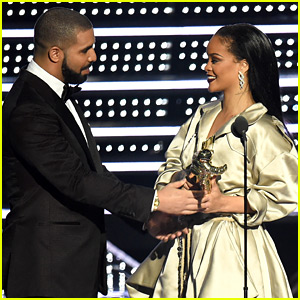 Rihanna Thanks Drake for VMAs Speech: 'I Love You for That'