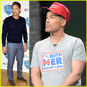 Rob Lowe Plays Undecided Voter For 'Late Show' Sketch!