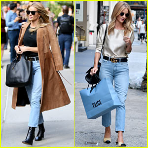 Rosie Huntington-Whiteley Will Catch a Flight to Her 'Motherland'