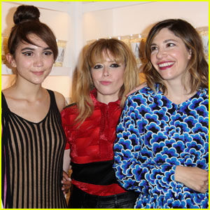 Rowan Blanchard Joins Natasha Lyonne & Carrie Brownstein at the 'The Realest Real' Premiere
