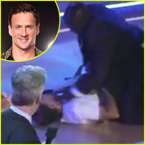 Ryan Lochte Ambushed on 'DWTS': Protesters Storm Stage in New Footage - Watch