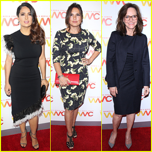 Salma Hayek Gets Honored At Women's Media Awards 2016!
