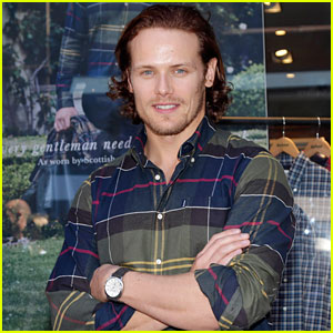 Sam Heughan Thinks He's Seen the Loch Ness Monster's Cousin!