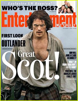 Outlander's Sam Heughan Looks So Hot for 'EW' Cover!