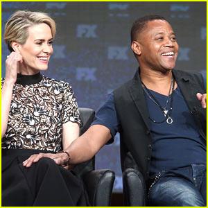 Sarah Paulson & Cuba Gooding Jr Reunite for 'American Horror Story' Season 6!