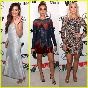 Lea Michele, Sarah Hyland, & Julianne Hough Turn Heads at Variety's Pre-Emmy Party