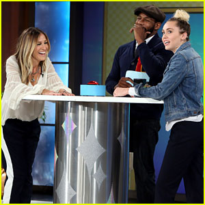 Sarah Jessica Parker & Miley Cyrus Play 'Five Second Rule' - Watch Now!
