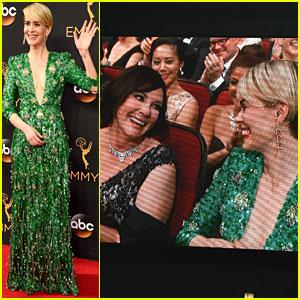 Sarah Paulson Brings Marcia Clark as Emmy Awards 2016 Date!