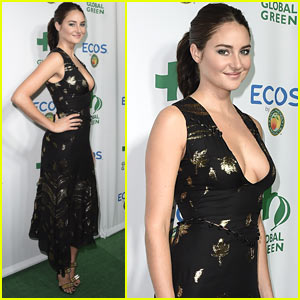Shailene Woodley is Honored at the Global Green Environmental Awards!