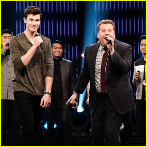 Shawn Mendes Has a 'Better Then/Better Now' Riff-Off With James Corden - Watch Now!