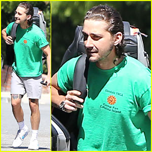 Shia LaBeouf Gets Ready for an Adventurous Friday Outing!