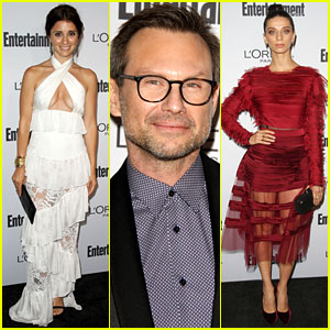 Shiri Appleby, Christian Slater, & More Help EW Celebrate the Emmy Awards!