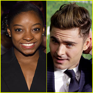 Simone Biles Dishes on Her Dream Date with Zac Efron in '73 Questions' Video!