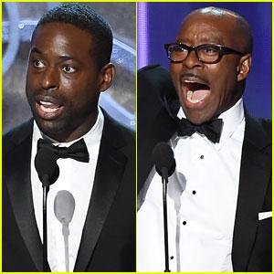 Sterling K. Brown & Courtney B. Vance Win Emmys for 'People v. O.J. Simpson'