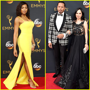 Taraji P. Henson Brightens Up in Vera Wang on Emmys Red Carpet!