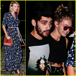 Taylor Swift Goes Out With Gigi Hadid & Zayn Malik in NYC!