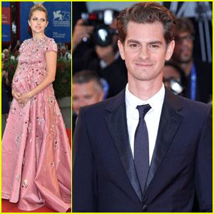 Andrew Garfield & Teresa Palmer Premiere 'Hacksaw Ridge' at Venice Film Festival 2016
