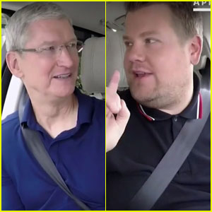 James Corden Drives Apple CEO Tim Cook to iPhone 7 Launch