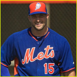 Tim Tebow Hits Home Run on First Pitch of Pro Baseball Career