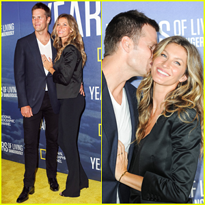 Tom Brady & Gisele Bundchen Have Date Night At 'Years Of Living Dangerously' Premiere!