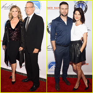 Tom Hanks Supports Wife Rita Wilson At 'Brother Nature' Premiere - Watch Trailer!