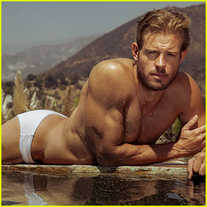 Trevor Donovan Wears Just a Speedo for Sexy Poolside Photo Shoot! (Exclusive)